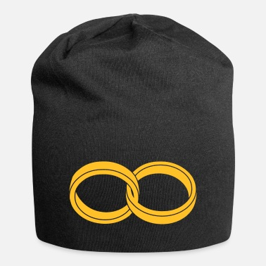 Together wedding rings - like a Symbol of infinity - Beanie
