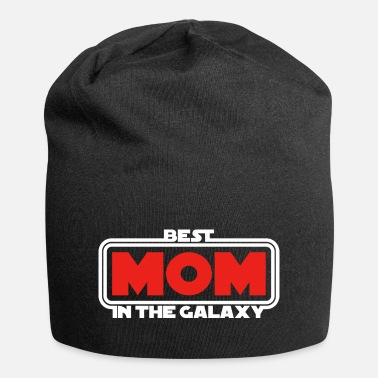 Super Geek Mutter Best Mom in the Galaxy (dark) - Beanie