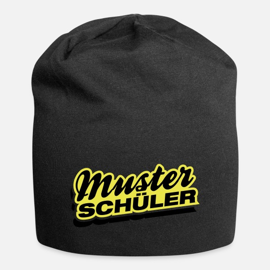 Best In Class Caps & Hats - muster_schueler_yx2 - Beanie black