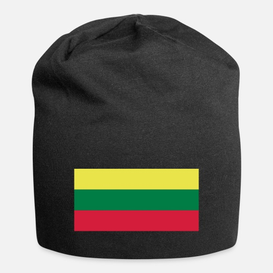Lithuania Caps & Hats - Lithuania - Beanie black