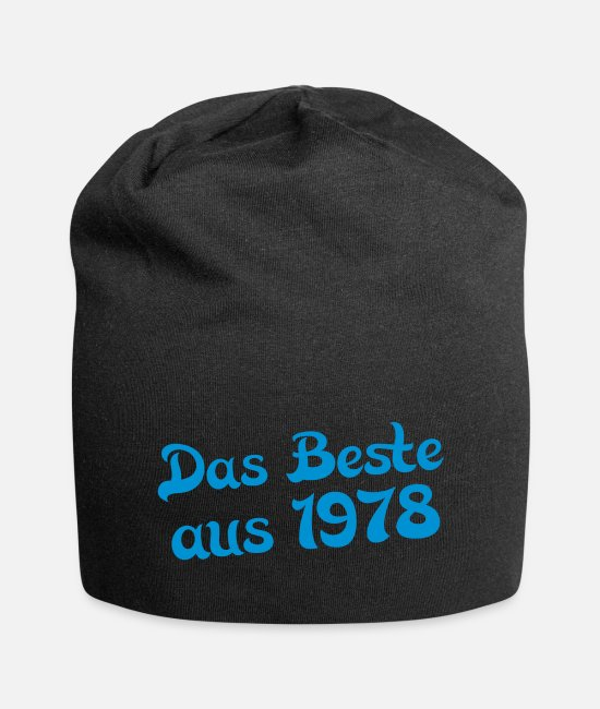 The Best Caps & Hats - the best of 1978 - Beanie black