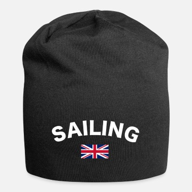 Gb Sailing logo White - Beanie
