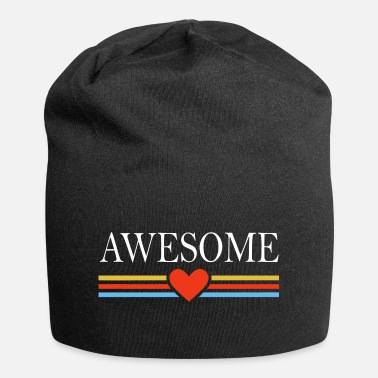 Awesome Awesome awesome heart - Beanie