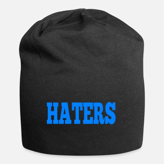 Hipster Caps & Hats - HATERS - Beanie black