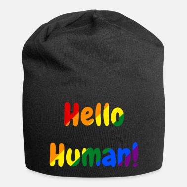 Hello Human - Rainbow- Women - Beanie