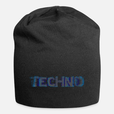 Basse Techno Glitch I Love Techno - Beanie