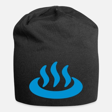 Japanese Sign Onsen ♨ Hot Spring 温泉 Japanese Sign - Beanie