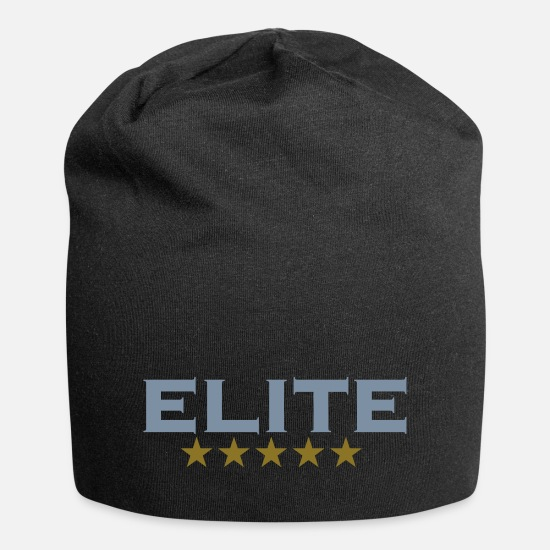 News Caps & Hats - ELITE, 5 stars, For the Best of the Best! - Beanie black