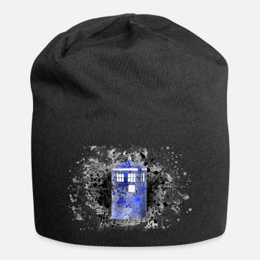 Paint Splatter Tardis Paint Splatter - Beanie