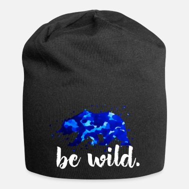 Quote Cool wilderness quote - Beanie