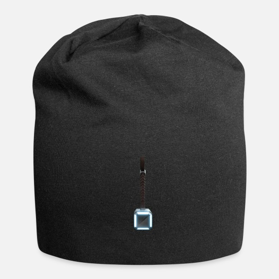 Lightning Caps & Hats - Thor's Hammer - Beanie black