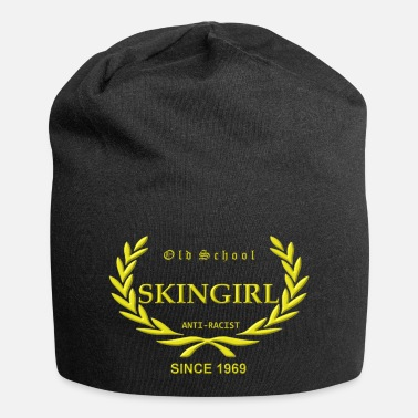 Skingirl Old School Skingirl Anti-Racist Since 1969 (gelber - Beanie