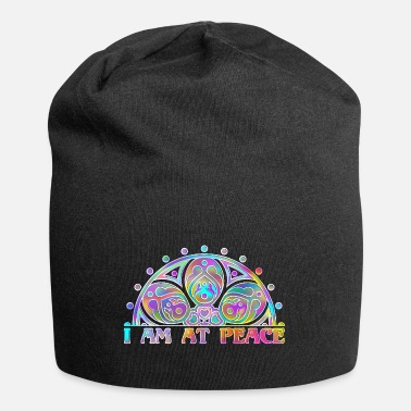 Spiritual MANDALA I AM AT PEACE 4 - Beanie