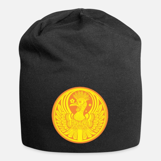 Plumage Caps & Hats - The medal of the phoenix - Beanie black