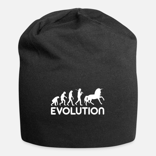 Gift Idea Caps & Hats - evolution - Beanie black