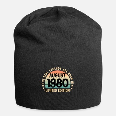 Happy Birthday August 1980 Gift T-Shirt Limited Edition '80 - Berretto