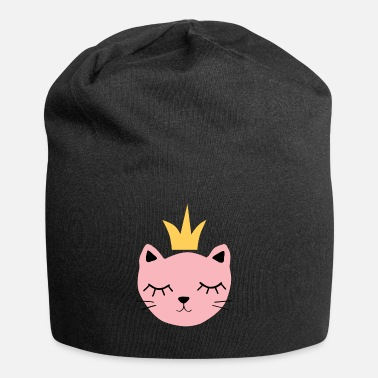 Pink cat with crown - Beanie