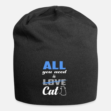 Ailurophile Funny All You Need Is Kissa - Beanie-pipo