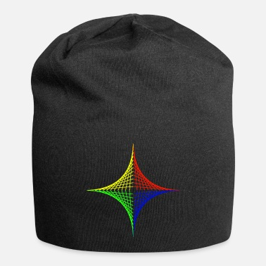 Geometric design Color intensive - Beanie