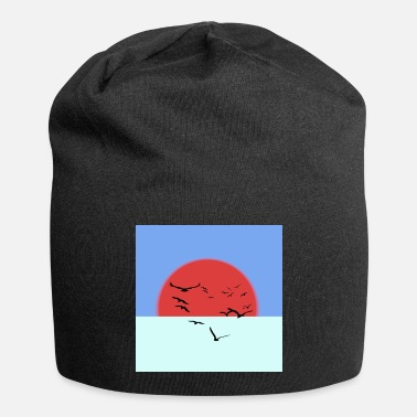 Ink Glowing sun - Beanie