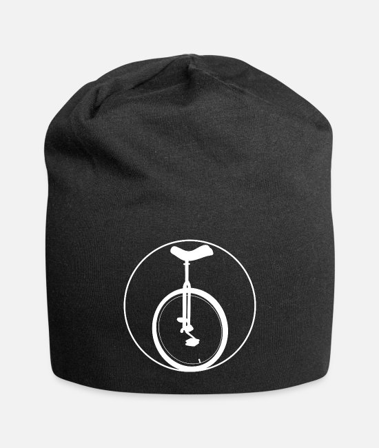Bicycle Caps & Hats - unicycle - Beanie black
