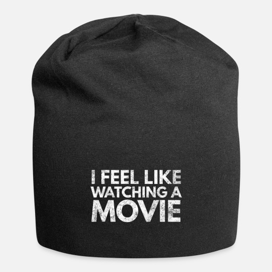 Birthday Caps & Hats - Cinema Movie Movie Popcorn Filmmaker Tv Gift 10 - Beanie black