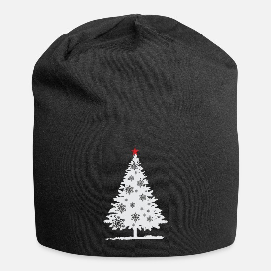 Gift Idea Caps & Hats - Christmas tree - fir-tree - Christmas Tree - Beanie black
