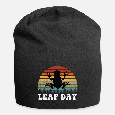 Groda Leap Year Frog Leap Day 29 februari 2020 Vintage - Beanie