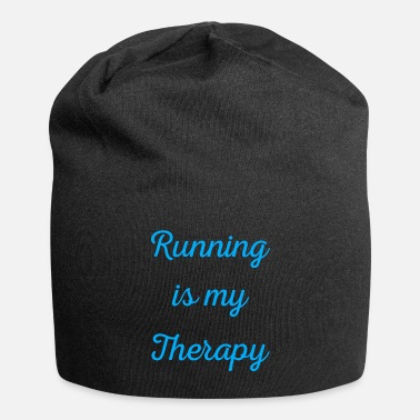 Sprinting Running is my therapy saying gift - Beanie