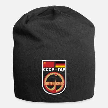 Flyga USSR GDR Intercosmos Gift Astronomy Space - Beanie