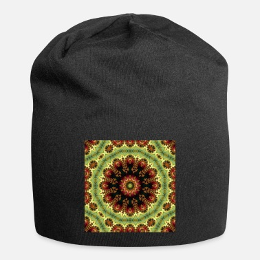 Ornament ABSTRAKT FRACTAL ROYALLY MANDALA 3 - Beanie