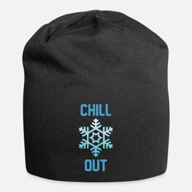 Chill Chill Out Winter Snowflake Cool Gift - Beanie