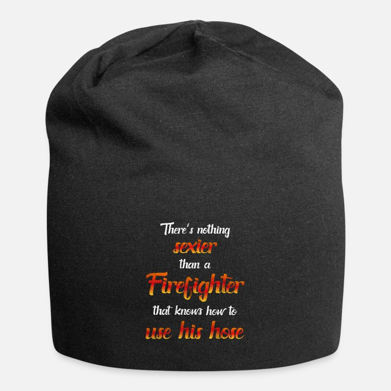 f8984f6c450 Birthday Caps   Hats - Firefighter Sexy Funny Sayings Fun Gift - Beanie  black
