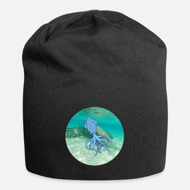 Under Water calamari under water - Beanie