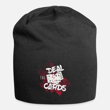 Deal the cards - show your hand in poker - Beanie
