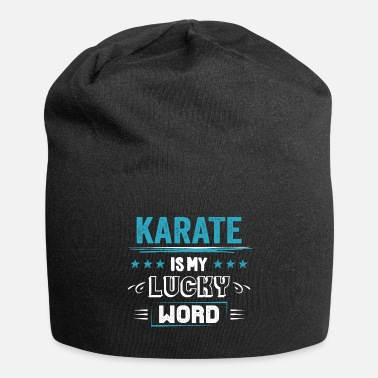 Association Karate Lucky Word Sayings Funny Funny Gifts - Beanie