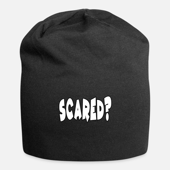 Witches Broom Caps & Hats - scared? - Beanie black