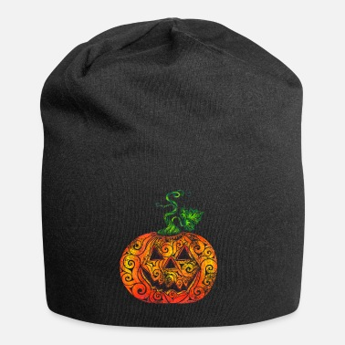 Pen Swirly Pumpkin - Beanie