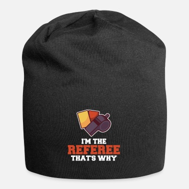 Red I'm The Referee That's Why - Beanie