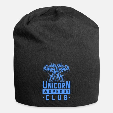 Muscle Unicorn workout gear gym fitness - Beanie
