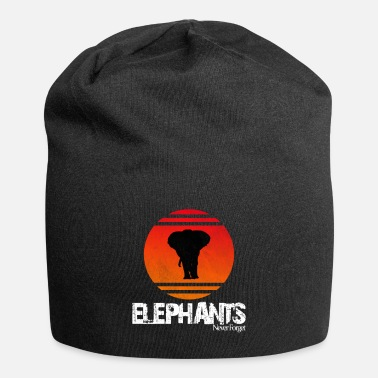 Nature Conservation Elephant animal welfare wildness nature nature conservation - Beanie