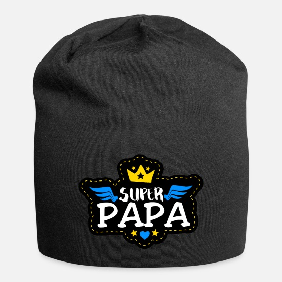 Dad Caps & Hats - Super Dad - Beanie black