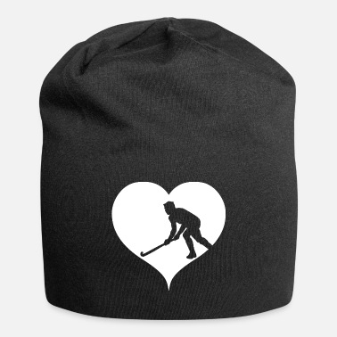 Field Hockey Hockey player heart indoor hockey field hockey - Beanie