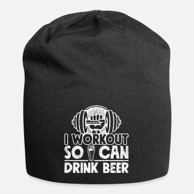 Tipple Funny Gym Drinking Shirt I Workout So I Can Drink - Beanie