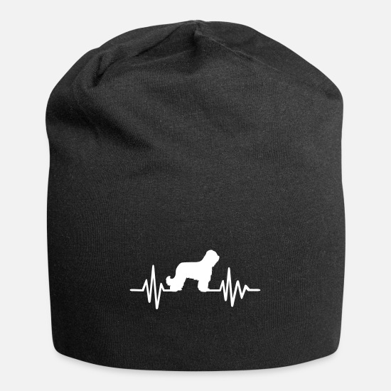 Dog Caps & Hats - Briard - Beanie black