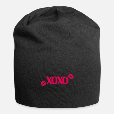 Engagement Party Xoxo heart valentine kiss gift - Beanie