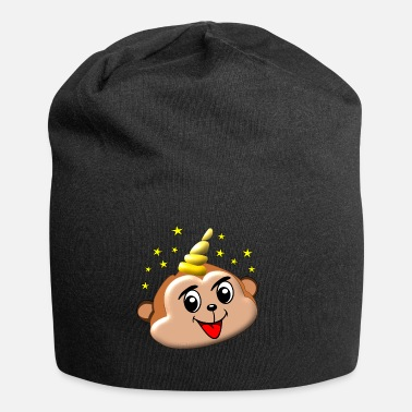 Life Energy MAGIC UNICORN MONKEY APE MONKEY UNICORN LAUGH - Beanie