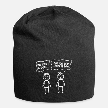 Wedding Day Relationship Partnership Funny Sayings Couples - Beanie