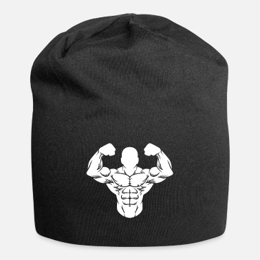Exercise Bodybuilder Strong Man Toning Muscle Sport - Beanie