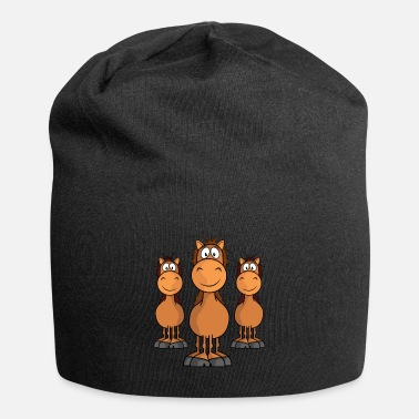 Kita Horse horses rider ride animal gallop foal Heng - Beanie